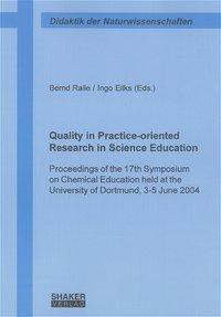 Quality in Practice-oriented Research in Science Education