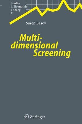 Multidimensional Screening