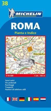 Roma / Rom  1 : 10 500. Stadtplan