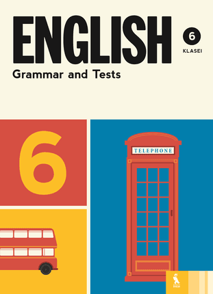English grammar and tests: 6 klasė