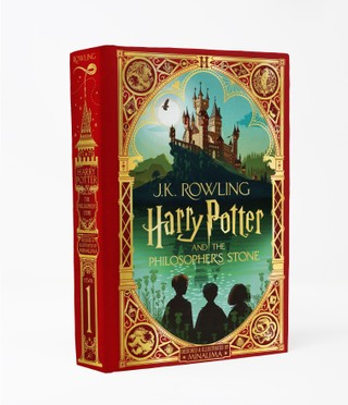Harry Potter 1 and the Philosopher's Stone. MinaLima Edition
