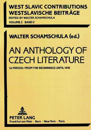 An Anthology of Czech Literature