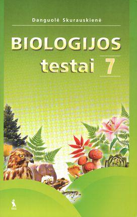 Biologijos testai VII klasei