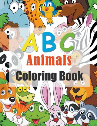 ABC Animals: Kids Coloring Book