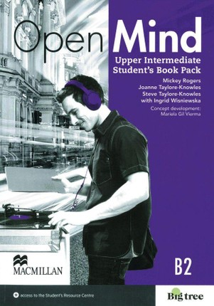 Open Mind Upper Intermediate. Student's Book with Webcode (incl. MP3) and Print-Workbook with Audio-CD+ Key