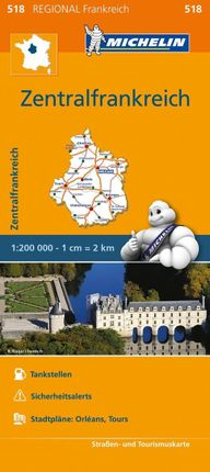 Michelin Zentralfrankreich