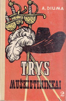 Trys muškietininkai. II tomas (1960)