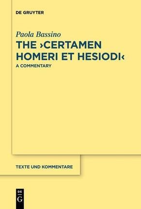 """The """"Certamen Homeri et Hesiodi"""""""
