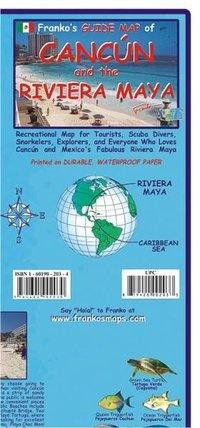 Franko Map Cancun and the Riviera Maya Guide