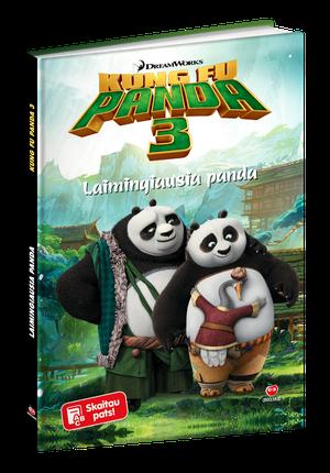 Kung Fu Panda 3. Laimingiausia panda