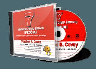 7 sėkmės lydimų žmonių įpročiai. Didžiausią įtaką padariusi knyga pasaulyje. Audio knyga. 1 CD