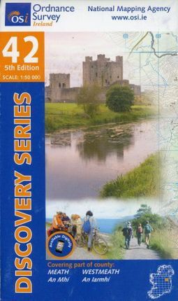 Irish Discovery Series 42. Meath, West Meath 1 : 50 000
