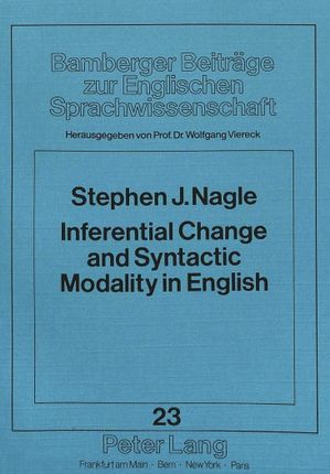 Inferential Change and Syntactic Modality in English