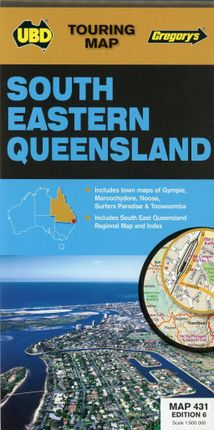 South Eastern Queensland 1 : 500 000