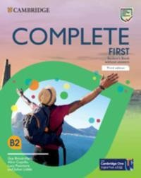 Complete First. Third edition. Student's Book without answers