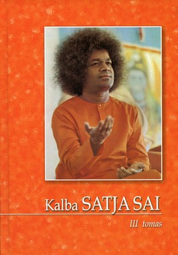 Kalba Satja Sai. 3 tomas