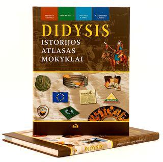 Didysis istorijos atlasas mokyklai