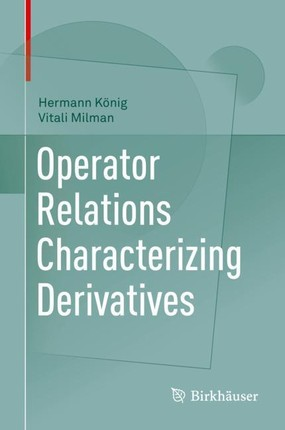 Operator Relations Characterizing Derivatives