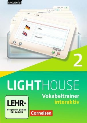 English G LIGHTHOUSE 02: 6. Schuljahr. Vokabeltrainer interaktiv