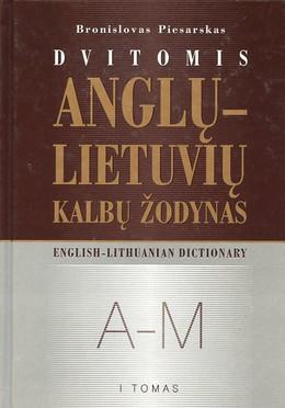Dvitomis anglų-lietuvių kalbų žodynas (I tomas)