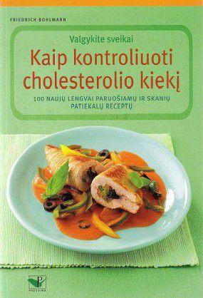 Kaip kontroliuoti cholesterolio kiekį: valgykite sveikai: 100 naujų lengvai paruošiamų ir skanių patiekalų receptų