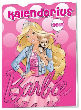 Barbie kalendorius 2015