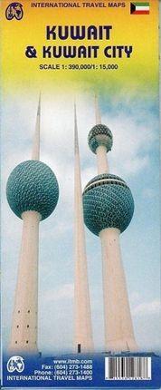 Kuwait  & Kuwait City Travel Reference Map 1 : 390 000 / 1 : 15 000