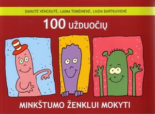 100 užduočių minkštumo ženklui mokyti