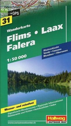 Flims /  Laax / Falera 1 : 50 000