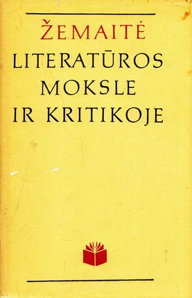 Žemaitė literatūros moksle ir kritikoje