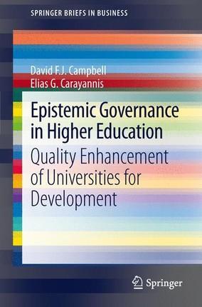 Epistemic Governance in Higher Education