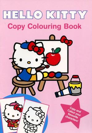 Hello Kitty copy colouring book