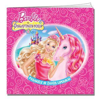 Barbie ir Paslaptingos durys. Pasakėlė su lipdukais