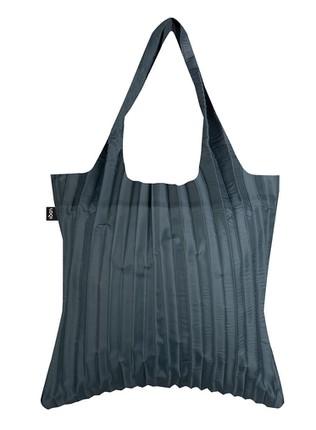 "LOQI pirkinių krepšys ""PLEATED Charcoal Bag"""