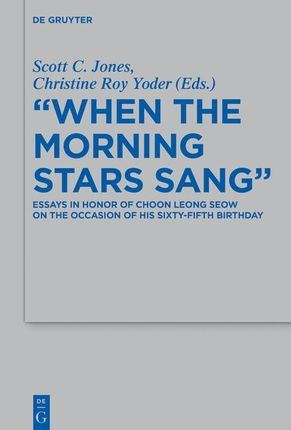 """""""When the Morning Stars Sang"""""""