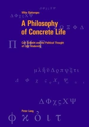 A Philosophy of Concrete Life