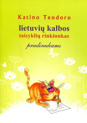 Lietuvių kalbos taisyklių rinkinukas pradinukams