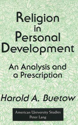 Religion in Personal Development