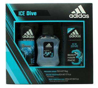 ADIDAS Ice Dive tualetinis vanduo, 1 vnt. (EDT)