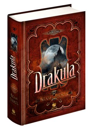 DRAKULA: klasikinis bestseleris, viena geriausių visų laikų mistinių knygų, įkvėpusi šimtus ekranizacijų ir pasekėjų