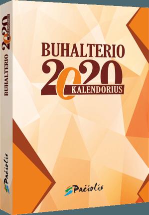 2020 metų buhalterio kalendorius