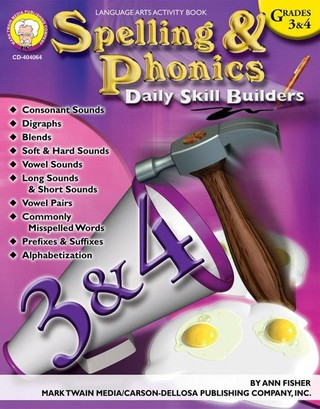 Spelling & Phonics, Grades 3 - 4