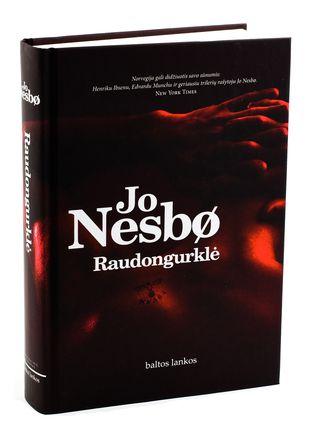 RAUDONGURKLĖ: asmeniškiausias Jo Nesbø romanas, 2005 m. pripažintas geriausiu visų laikų Norvegijos kriminaliniu romanu