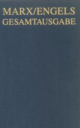 Karl Marx / Friedrich Engels: Briefwechsel, Januar 1862 bis September 1864