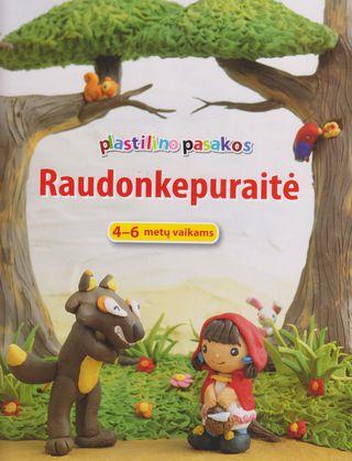 Plastilino pasakos. Raudonkepuraitė. 4 - 6 metų vaikams