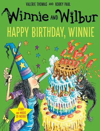 Happy Birthday Winnie. Book and CD
