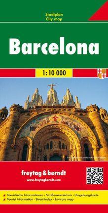 Barcelona 1 : 10 000 Stadtplan
