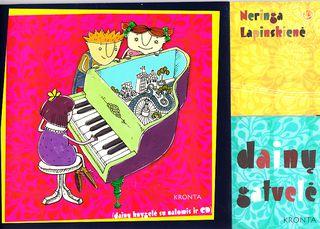 Dainų gatvelė (su natomis ir CD)