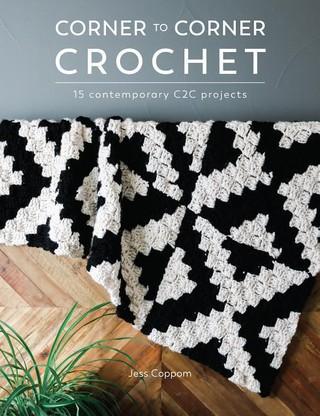 Corner To Corner.Knyga Corner To Corner Crochet Knygos Lt