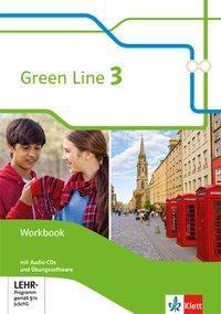Green Line 3. Workbook mit Audio-CDs und Übungssoftware